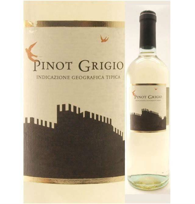 Пино гриджио (pinot grigio) – итальянец французского происхождения
