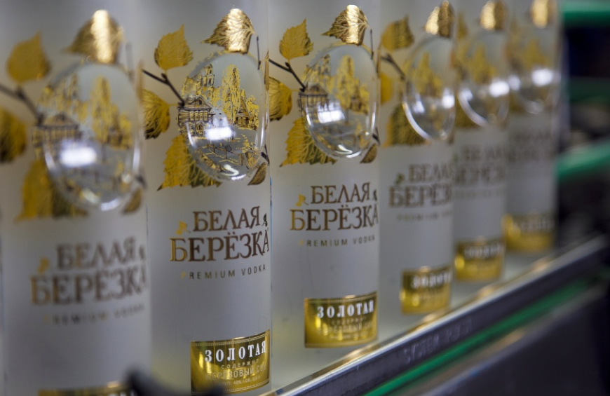 """Обзор водки """"белая березка"""" золотая, отзывы"""