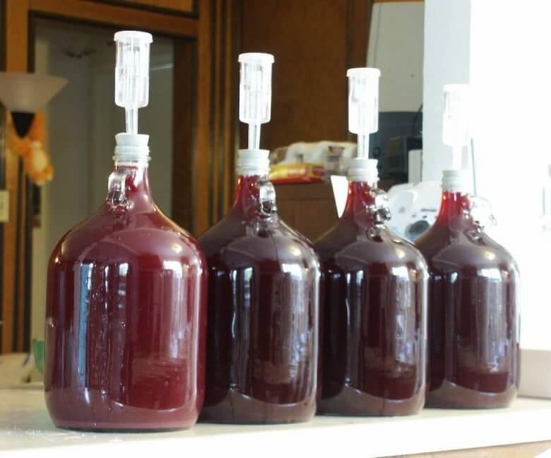 Домашнее вино из забродившего компота
