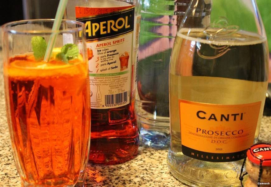 Коктейль апероль шприц и ещё 6 рецептов коктейлей из аперитива апероль в домашних условиях