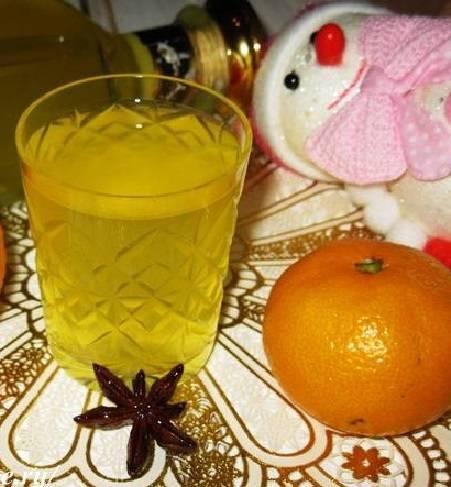 Настойка мандариновая