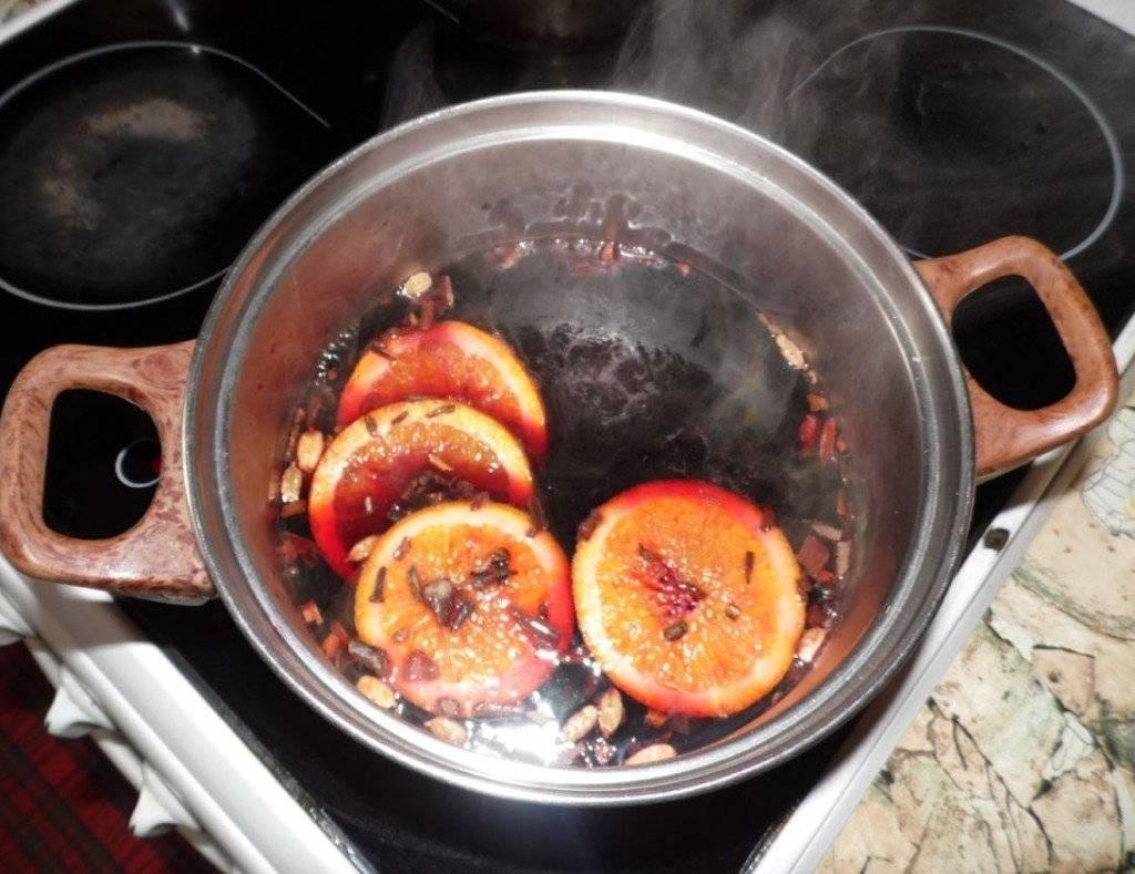 Рецепт приготовления глинтвейна в домашних условиях