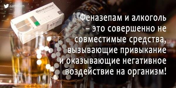 Совместимость и взаимодействие тримедата с алкоголем