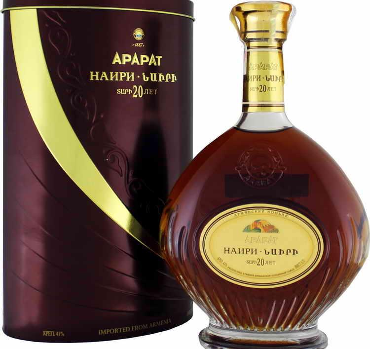 Коньяк арарат (ararat) — обзор классического напитка