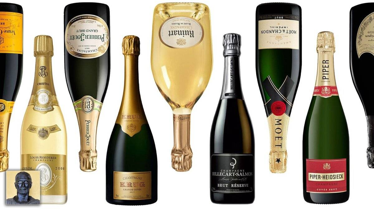 Обзор французского шампанского и игристого вина