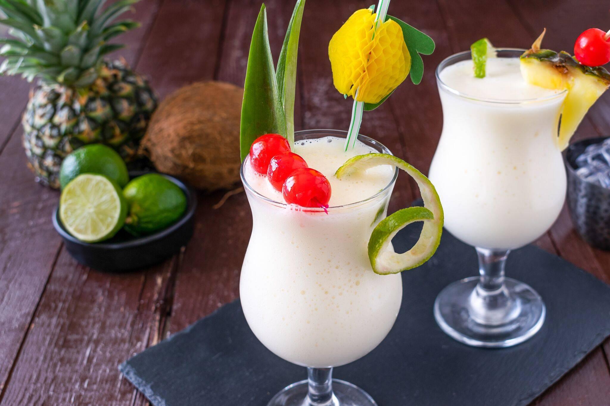 Коктейль пина колада алкогольный рецепт с фото пошагово и видео - 1000.menu