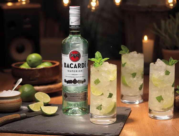 Бакарди: коктейль, рецепты с белым bacardi, блэк, как приготовить в домашних условиях
