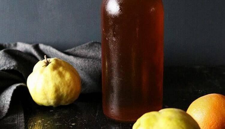 Настойка из айвы на водке: рецепт
