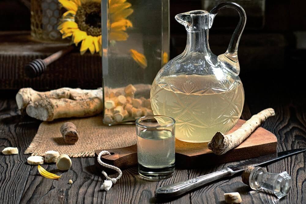 Хреновуха - рецепты алкогольного напитка с пикантным привкусом
