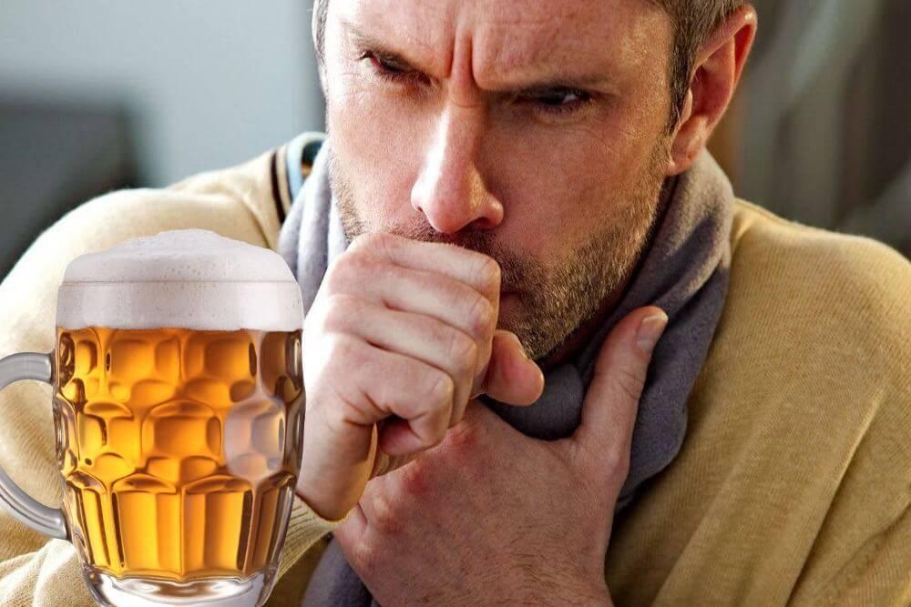 Теплое пиво от кашля: обзор лучших рецептов