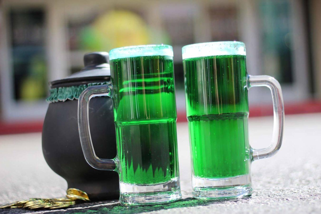 Что такое зеленое пиво?