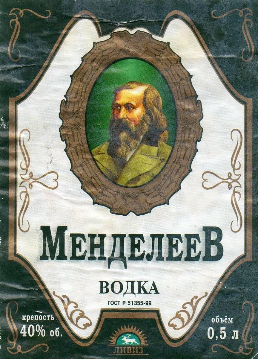 Менделеев или николай первый: кто придумал 40-градусную водку?   cooks - повара казахстана