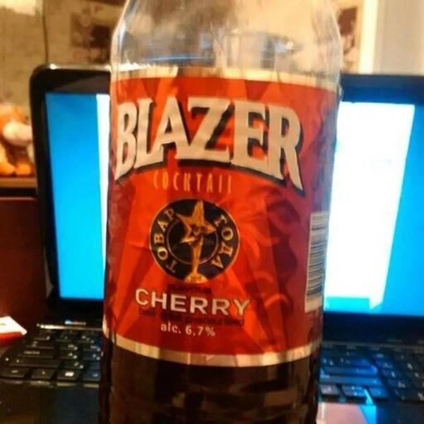 Какой вкус у блейзера джин тоник