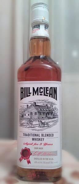 Билл маклин 03 года, традиционный смешанный виски - стоковая редакционная фотография