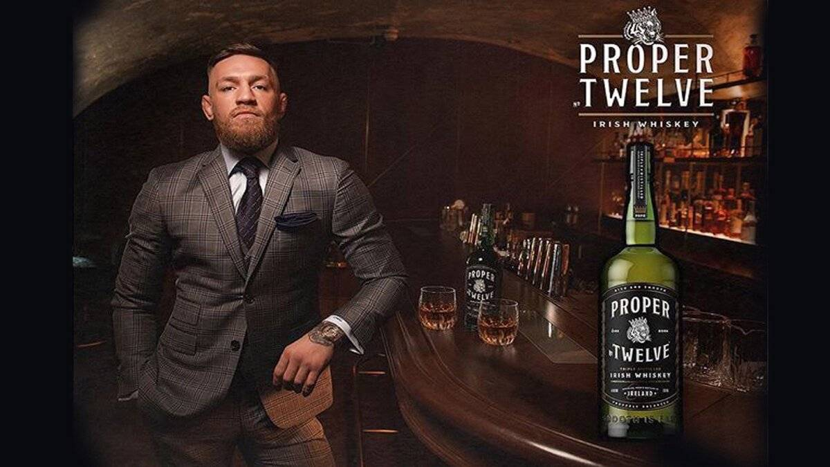 Виски proper twelve: детище боксера конора макгрегора - международная платформа для барменов inshaker