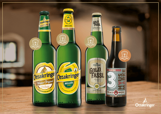 Пиво и алкоголь в австрийских супермаркетах