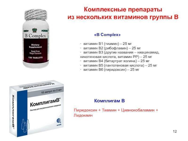 Витамины для лечения алкоголизма