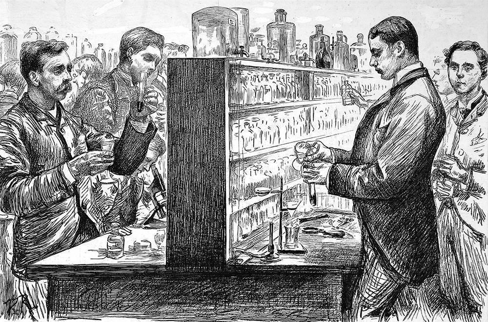 История изобретения водки