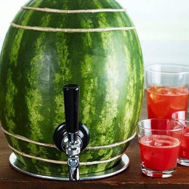 Настойка, наливка, ликер и другие напитки из арбуза, 14 рецептов в домашних условиях