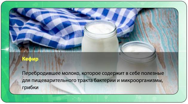 Отравление от кефира с огурцом