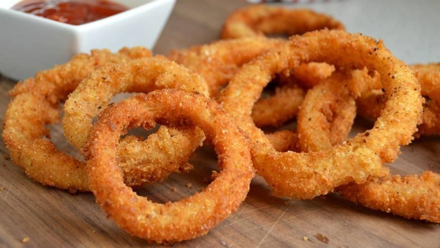 Луковые кольца в кляре - пошаговые рецепты с фото. как приготовить луковые кольца в домашних условиях