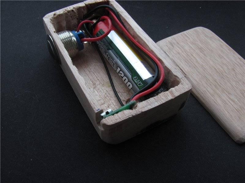 Как сделать мехмод своими руками пошагово: из фонарика, шприца и дерева. изготовление мехмода своими руками мод для сигареты своими руками