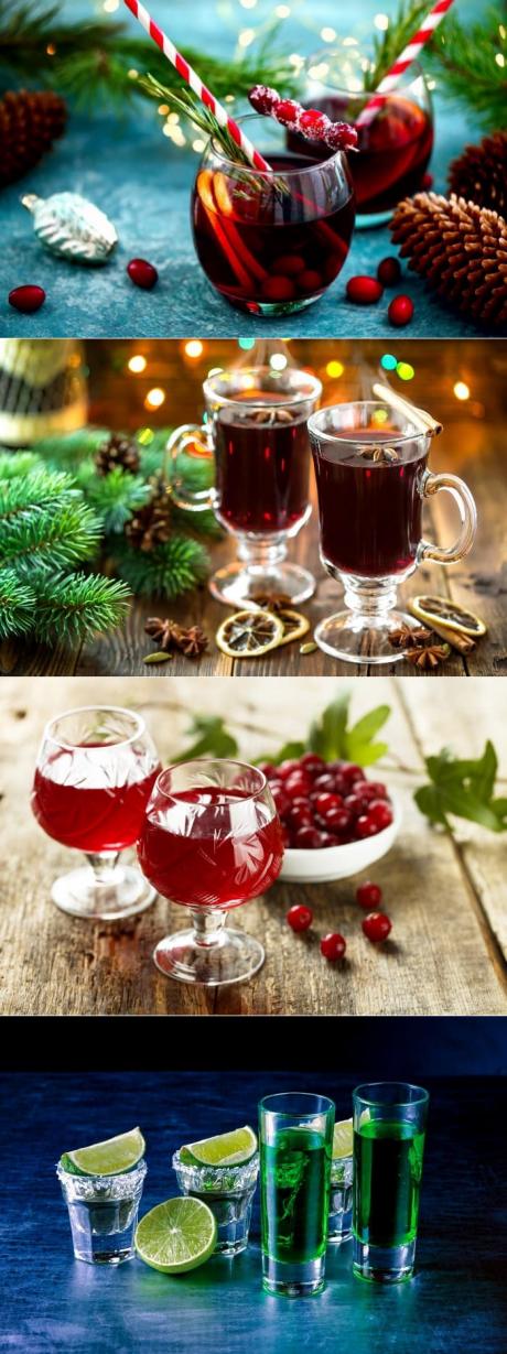 Алкогольные коктейли на новый год 2020: рецепты с фото простые и вкусные в домашних условиях – рецепты с фото
