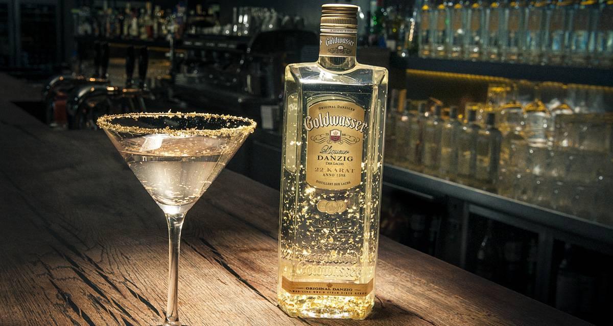 Ликер голдвассер (goldwasser): понятие и культура пития