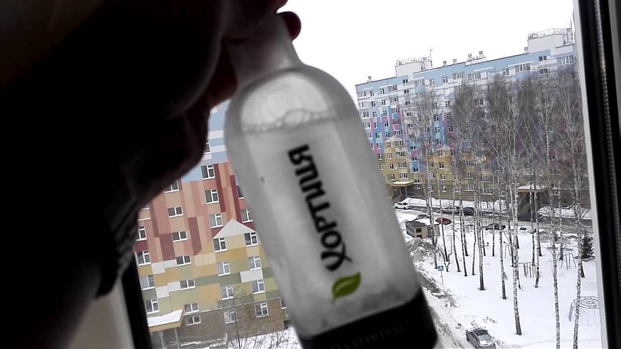 При какой температуре замерзает качественная водка?