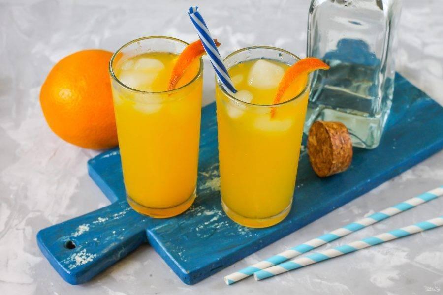 3 популярных варианта коктейля «отвертка»