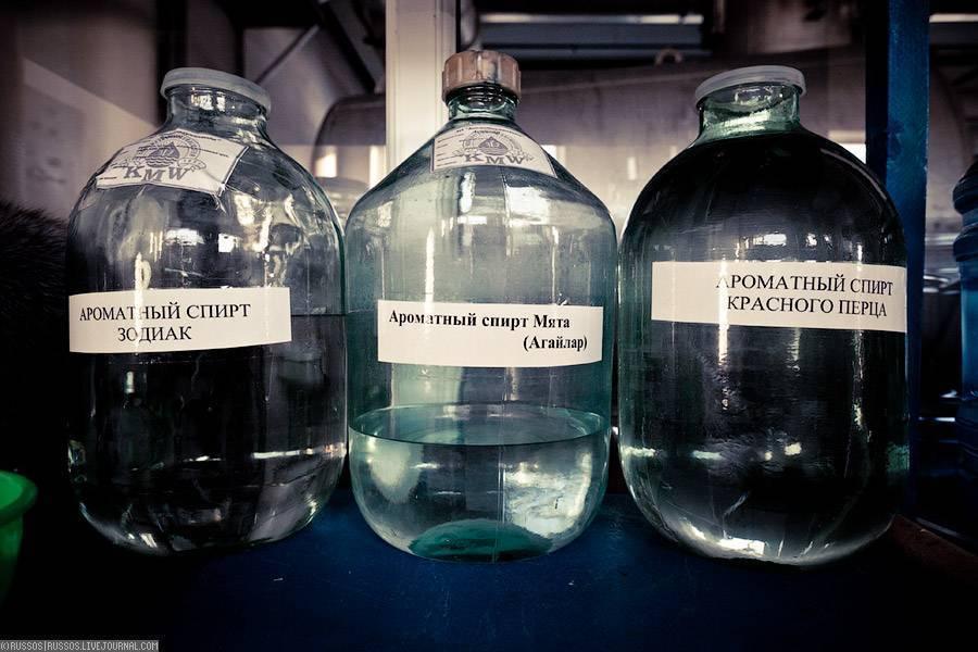 При какой температуре замерзает водка и спирт