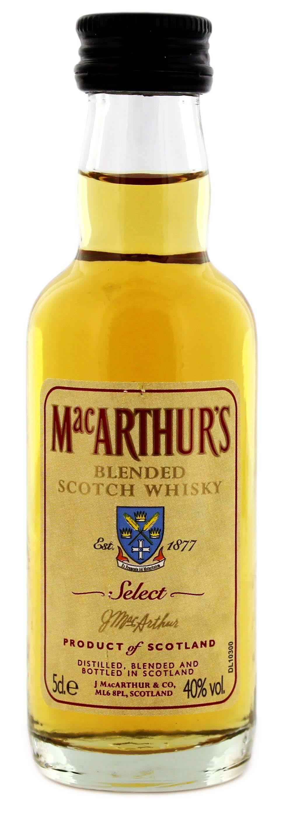 Виски macarthur's (макартур): описание, отзывы и стоимость