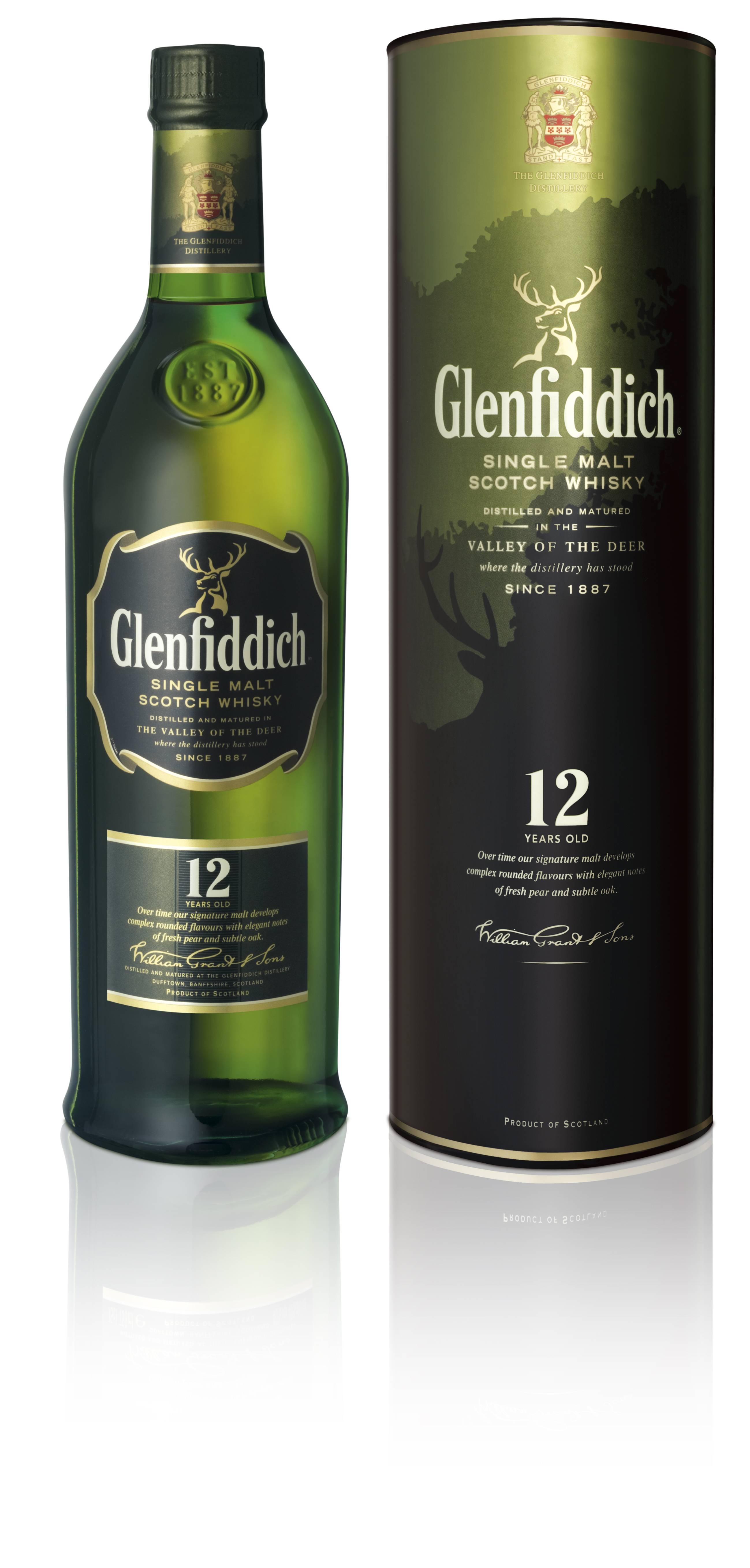 Виски glenfiddich с гор шотландии
