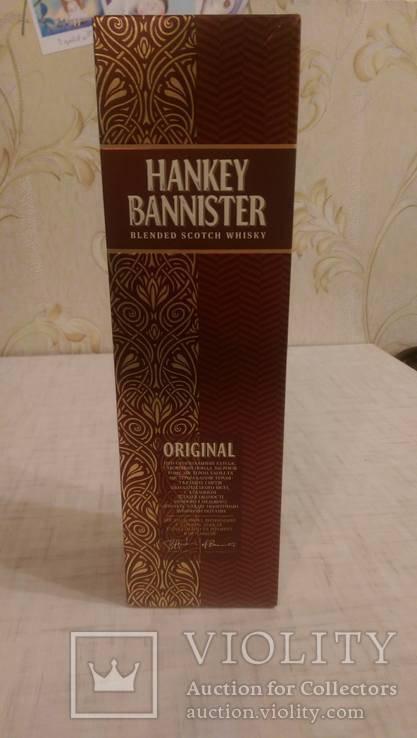 Алкогольная энциклопедия: купажированый виски hankey bannister