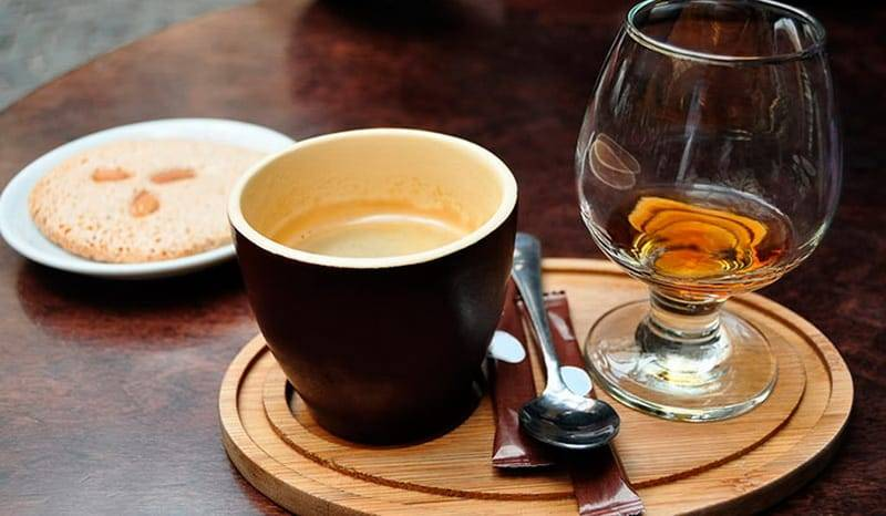 Рецепты кофе с коньяком