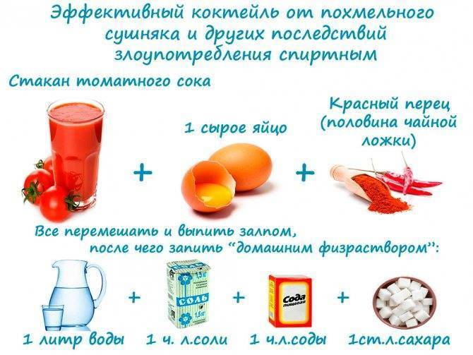 Можно ли есть помидоры при похмелье