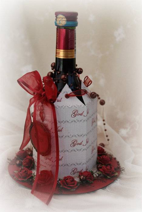 Алкоголь – это тоже подарок