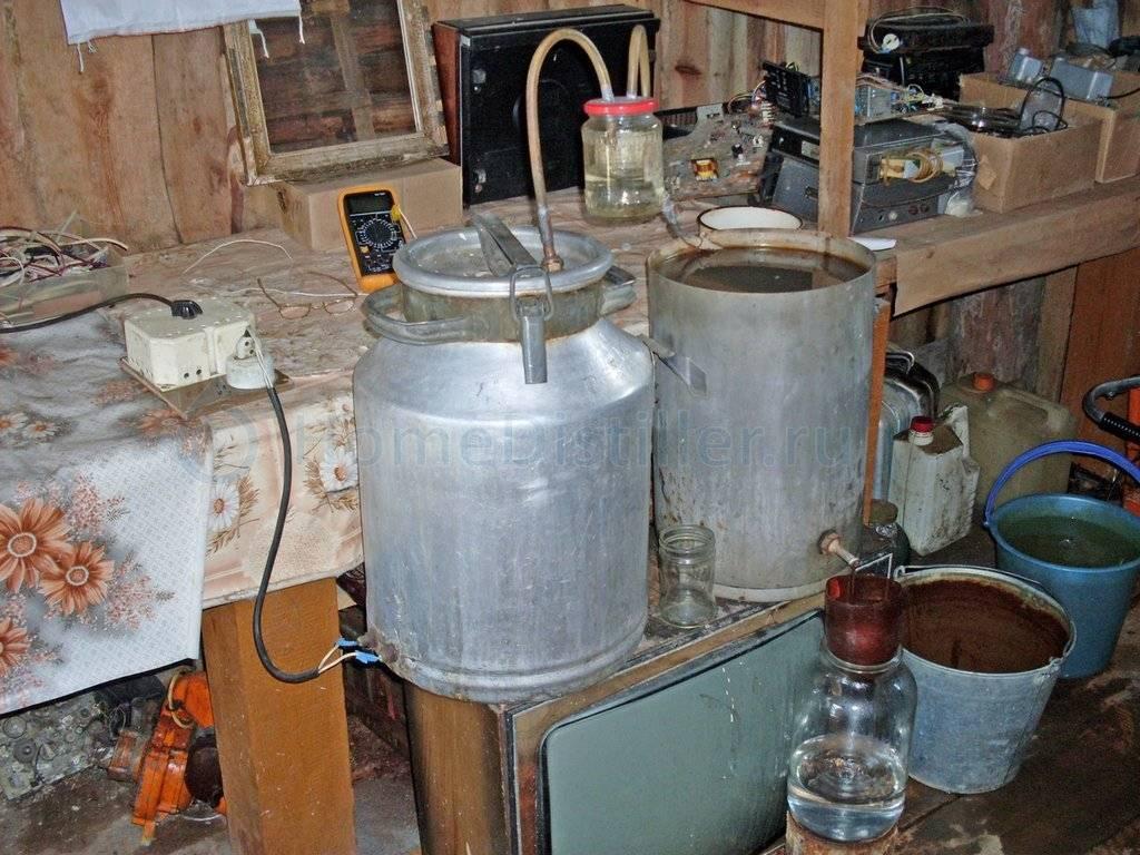 Холодильник для самогонного аппарата - виды, типы, материалы, изготовление