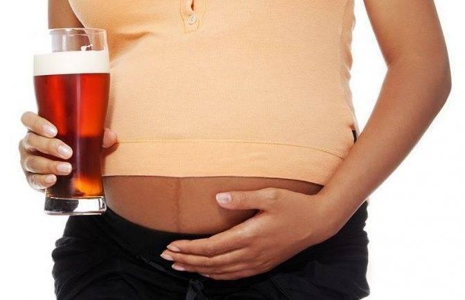 Подводные камни безалкогольного пива во время беременности