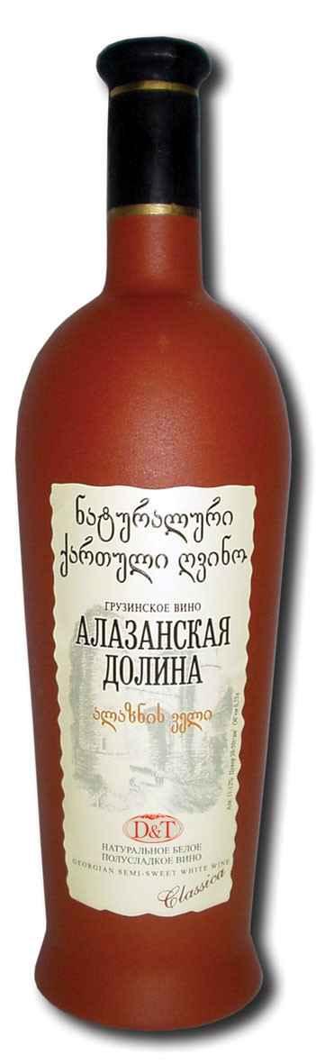 Алазанская долина вино красное полусладкое, характеристика вина