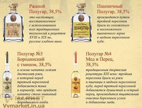 Полугар: история возникновения и технология изготовления хлебного вина