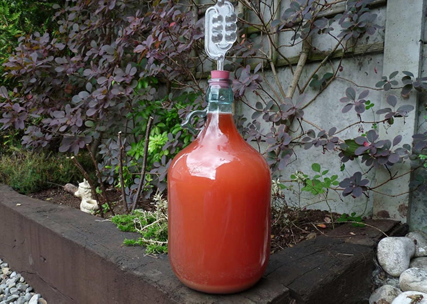 Вино из малины с водкой в домашних условиях - пошаговый рецепт