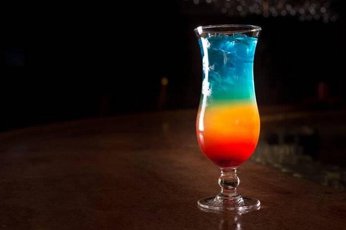 """Безалкогольный коктейль """"радуга"""": способы приготовления"""
