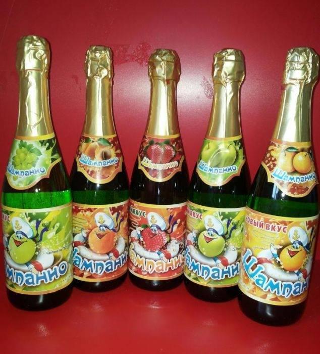 С какого возраста можно детское шампанское - моймалыш