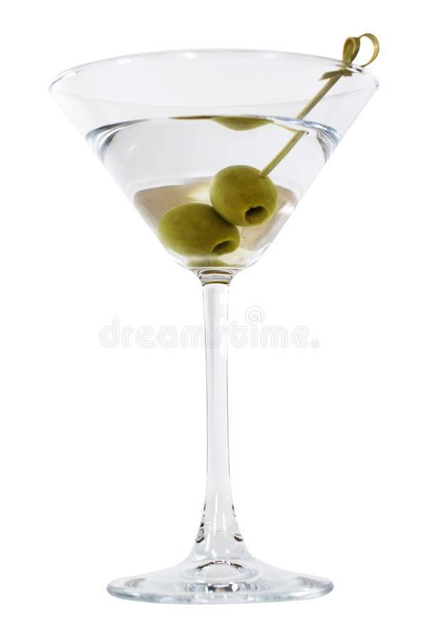 Рецепты приготовления мартини с оливкой