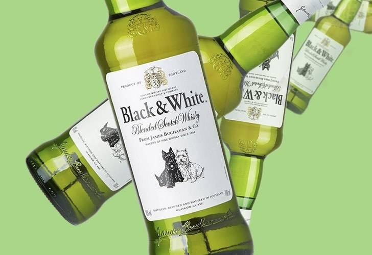 Виски блэк энд уайт (black and white) и его особенности