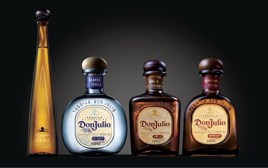 Особенности текилы Дон Хулио, виды напитка и цены на них