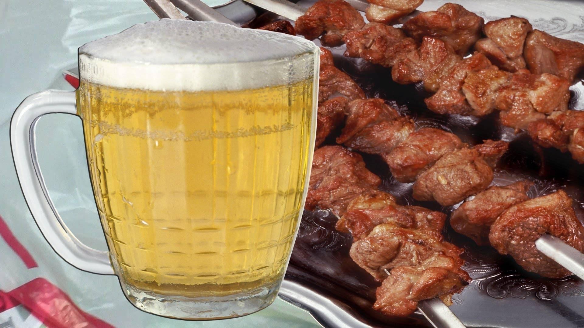 Мясо в пиве для шашлыка - вкусные рецепты маринада