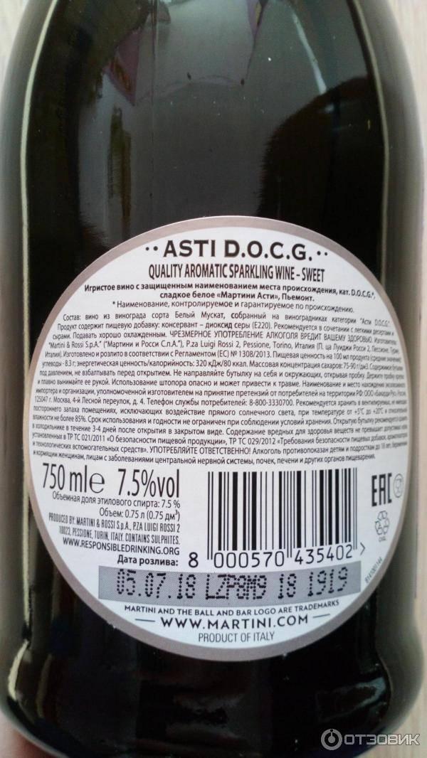 Срок хранения мартини бьянко в закрытом виде — читать ответ