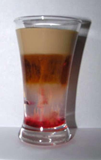 Коктейль медуза классический рецепт в домашних условиях состав, пропорции и история